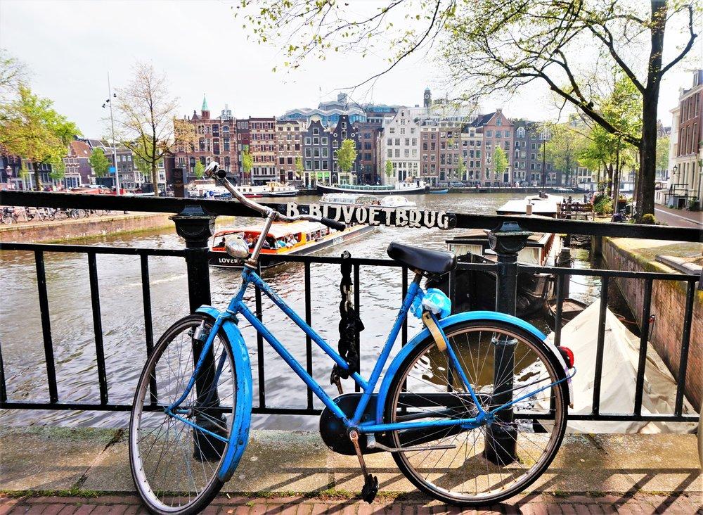 Netherlands Amsterdam Bike Bridge.jpg