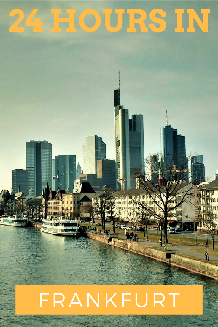Never heard of any attractions worth visiting in Frankfurt? Here are some great things to do and see during your layover or after your meeting in Frankfurt. #frankfurt #layover #skyline #mainhatten
