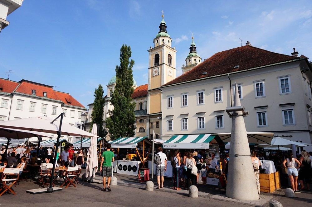 friday food market in ljubljana one of the best things to do in ljubljana