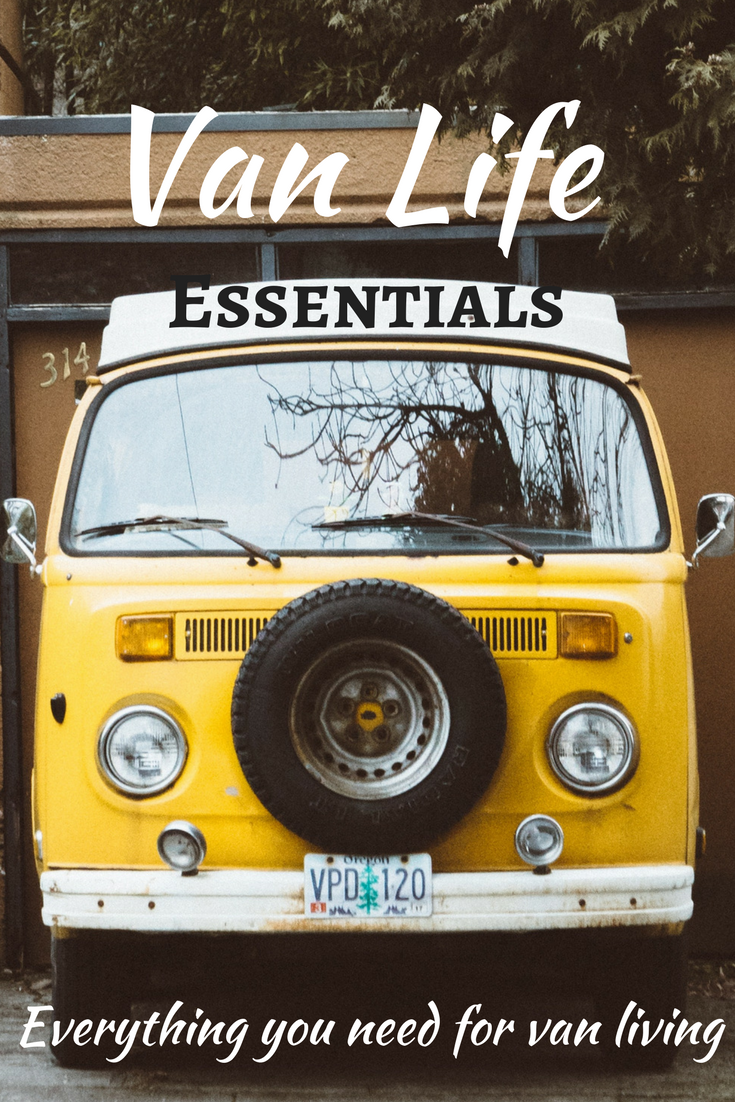 Vanlife Essentials! Useful ideas and necessary equipment for an independent life on the road. #vanlife #essentials #equipment