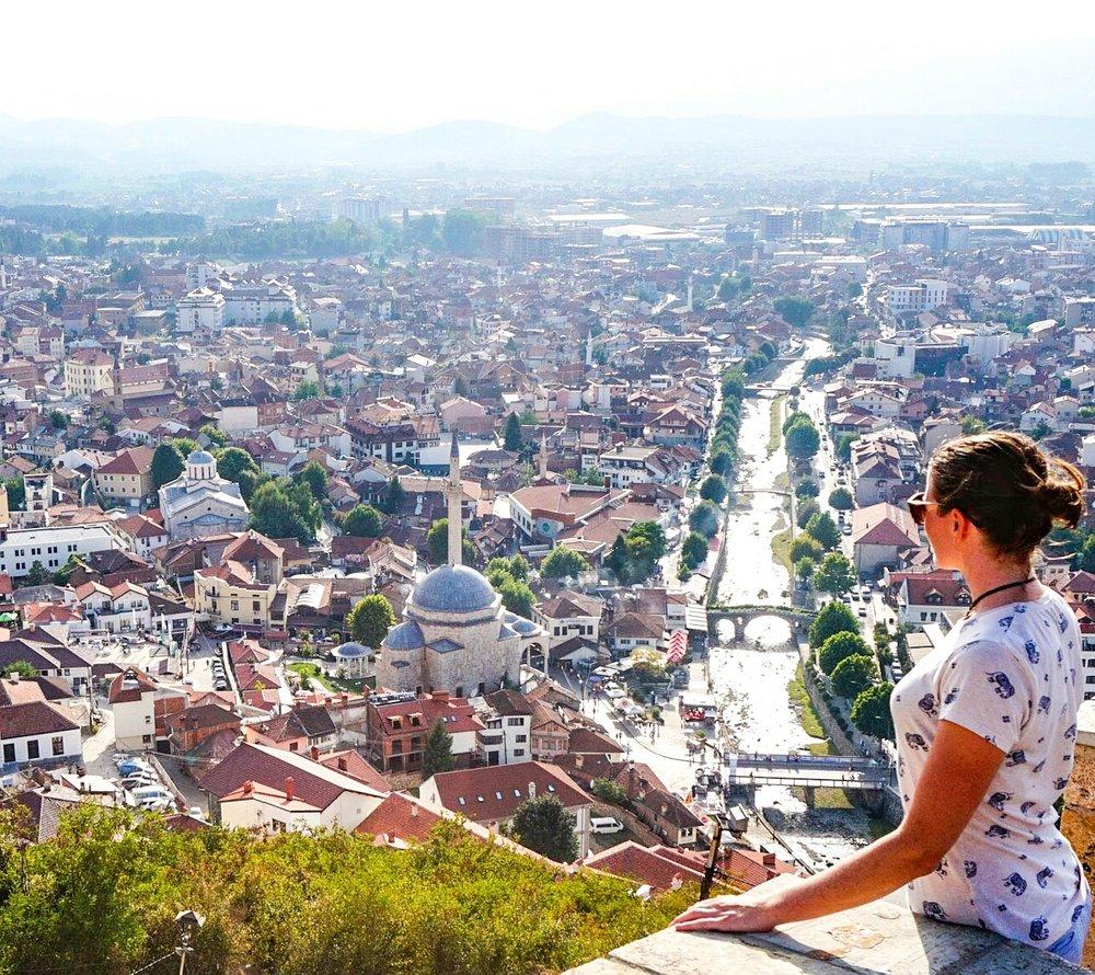 best attractions in kosovo - prizren fortress