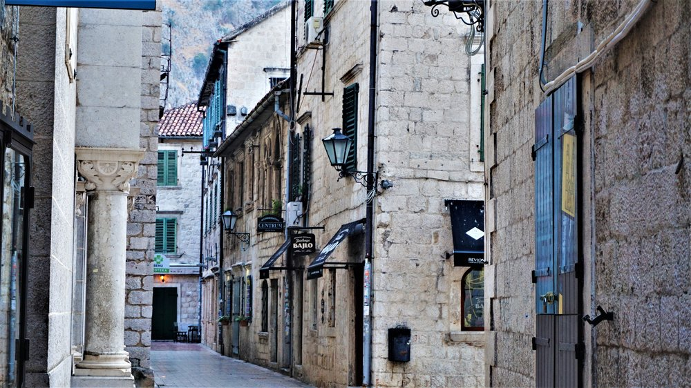 old town kotor on a budget