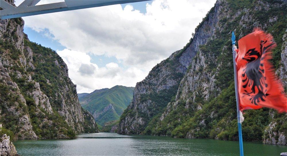 Ferry Komani Lake