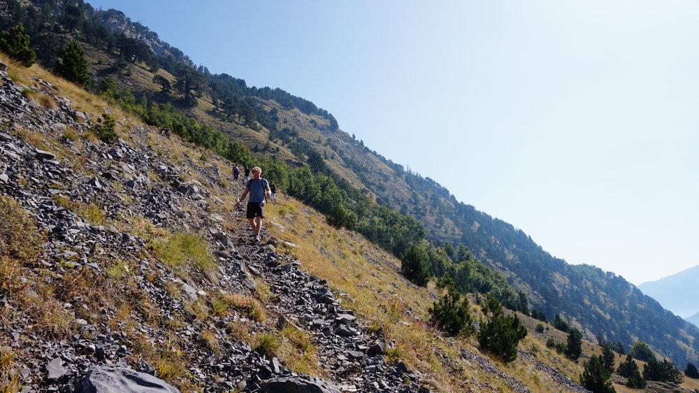 Hiking in Theth North Albania