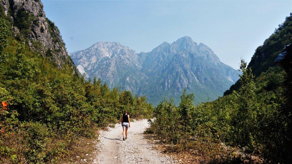 Hiking in Theth, Albania the path to the Blue Eye, Theth #albania #hiking