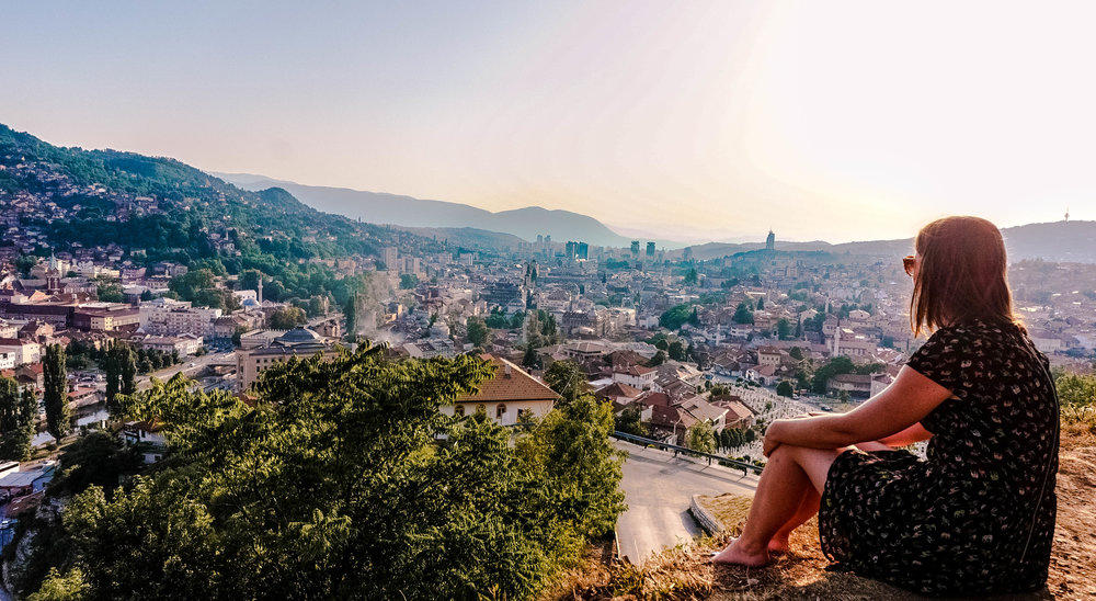 Road trip in the Balkans Sarajevo