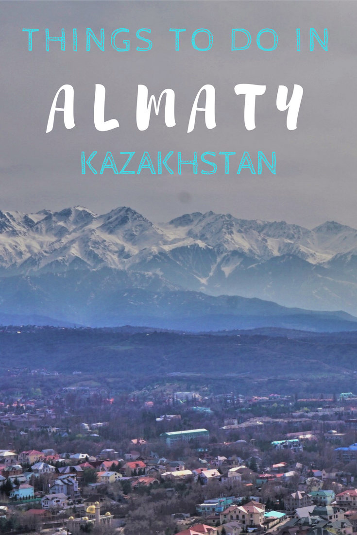 Everything you need to know about Almaty. Ultimate City Guide for the old capital of Kazakhstan.  #almaty #kazakhstan #cityguide