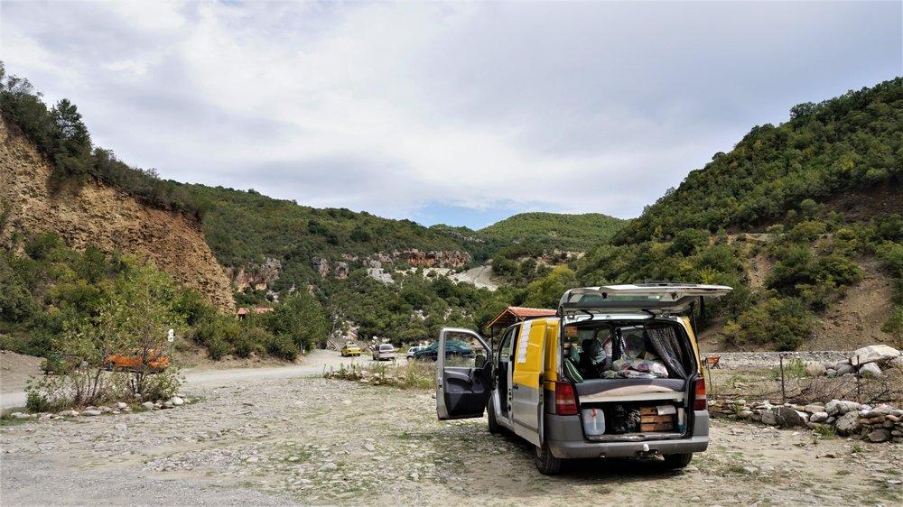 Banja Thermal pools free camping
