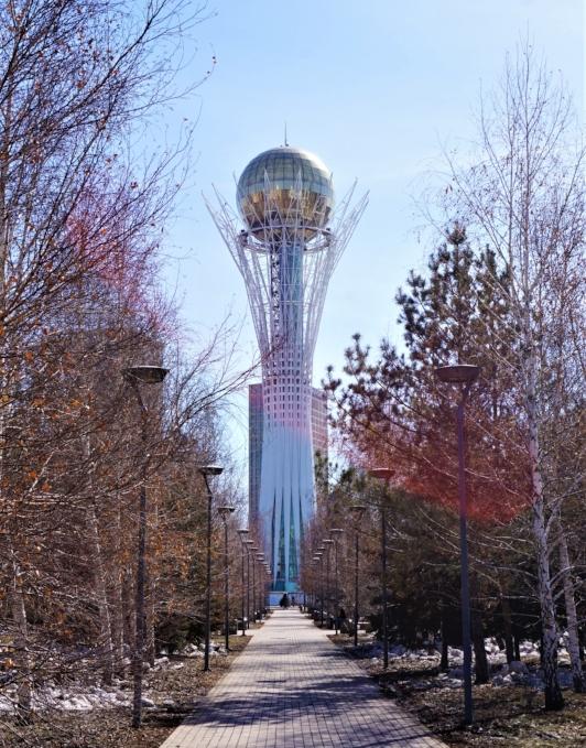 things to do in astana Bayterek tower