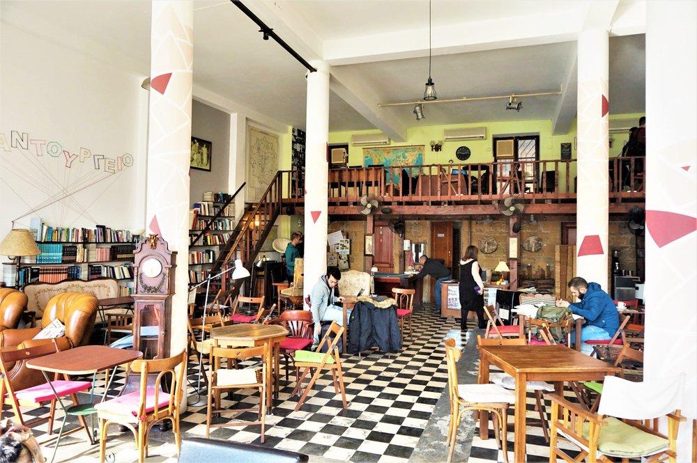 Book cafe Nicosia South Nicosia