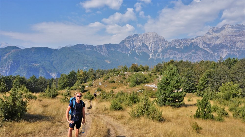 hiking in the Albanian Alps one of the top things to do in Albania