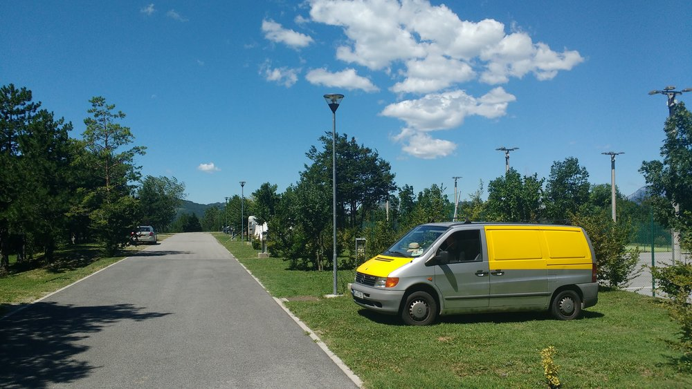best campgrounds in slovenia kamp tura