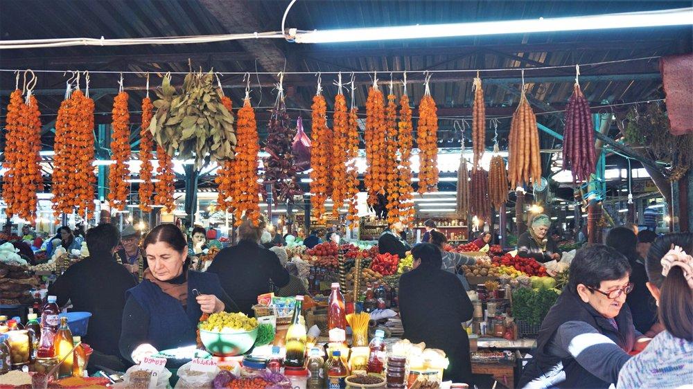 top things to do in kutaisi visit the kutaisi bazaar