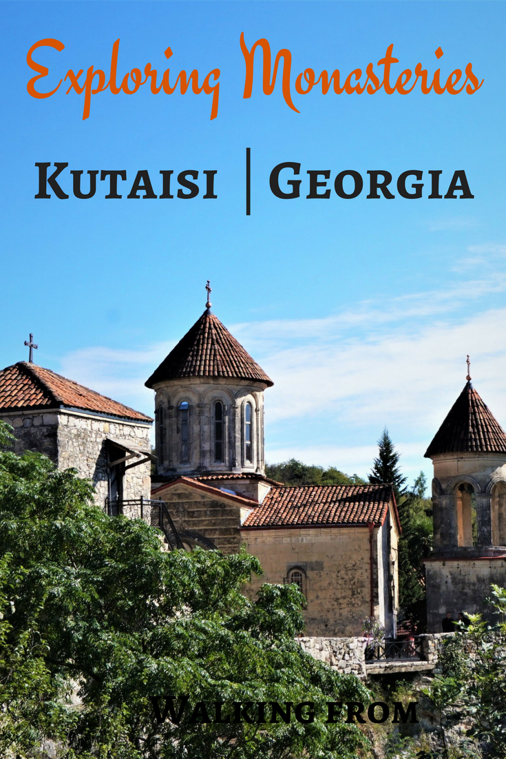 Interested in the beauty of central Georgia? Read about exploring the region around Kutaisi, including a description of a walk between Gelati Monastery and Motsameta Monastery. #georgia #kutaisi #gelatimonastery #motsametamonastery