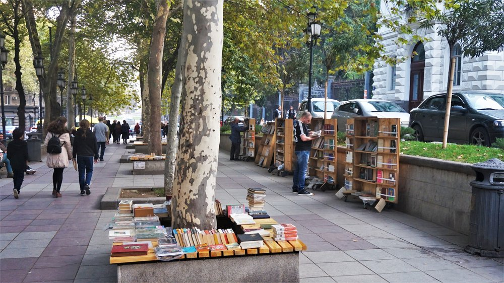 book markets in tbilisi georgia