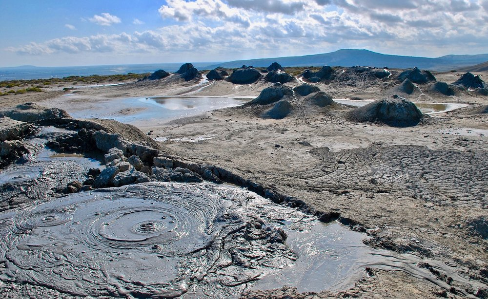 mud volcanoes day trip from baku azerbaijan