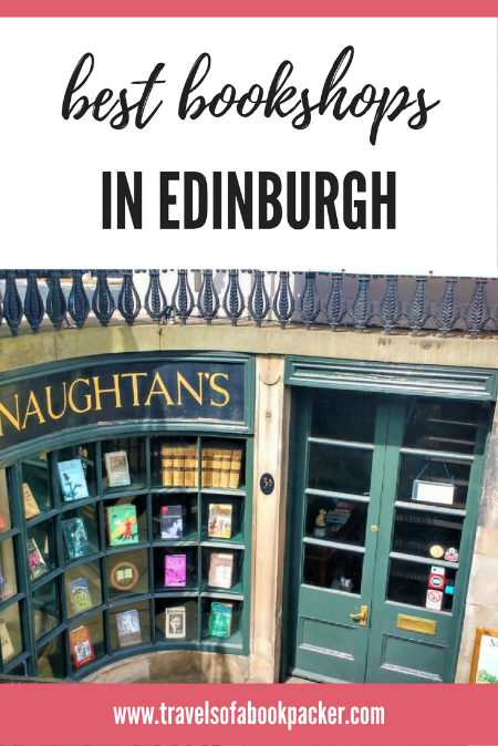 Best Bookshops in Edinburgh, Scotland. #edinburgh #bookshops #scotland