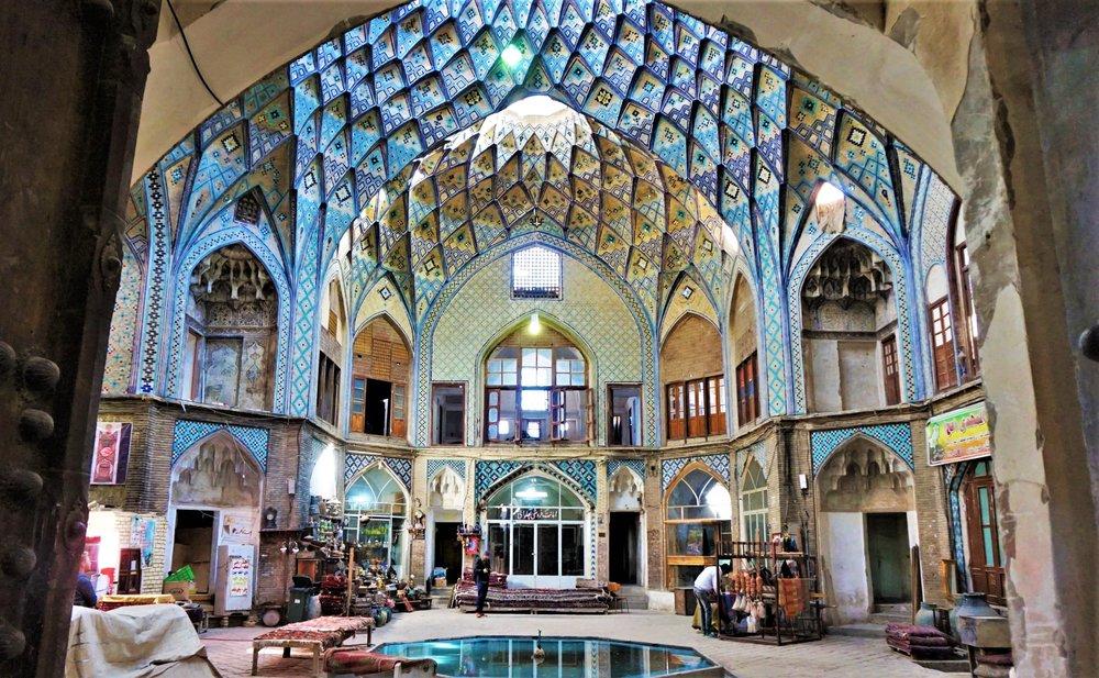 bazaar kashan iran