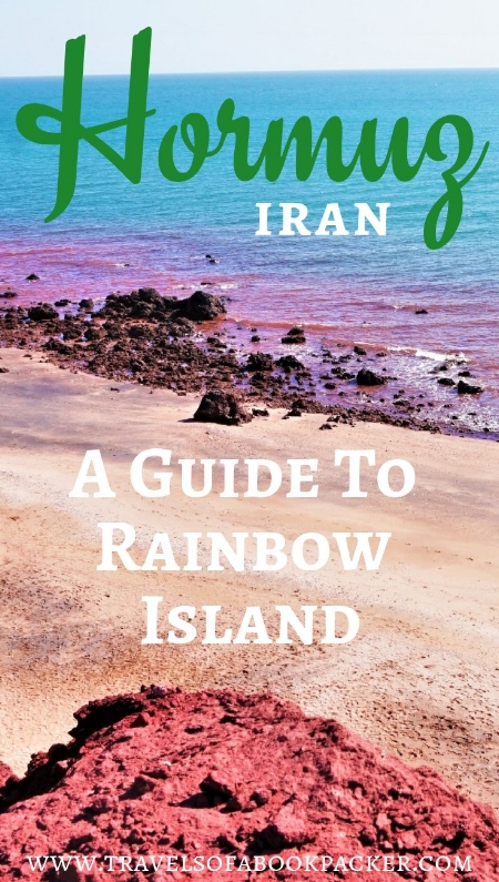 Are you planning on travelling Iran independently? Don't miss Iran's rainbow Island! Read the full guide to travel this hidden gem in the Persian Gulf.  #iran #hormuz #persiangulf #rainbowisland
