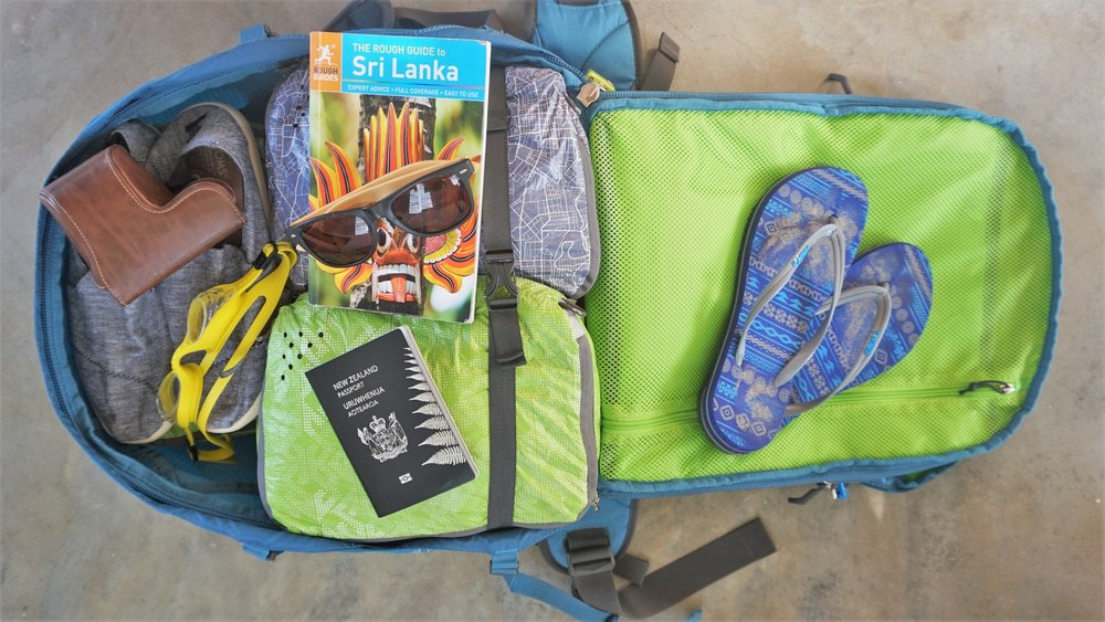 Carry on backpack that folds out Osprey Farpoint 40