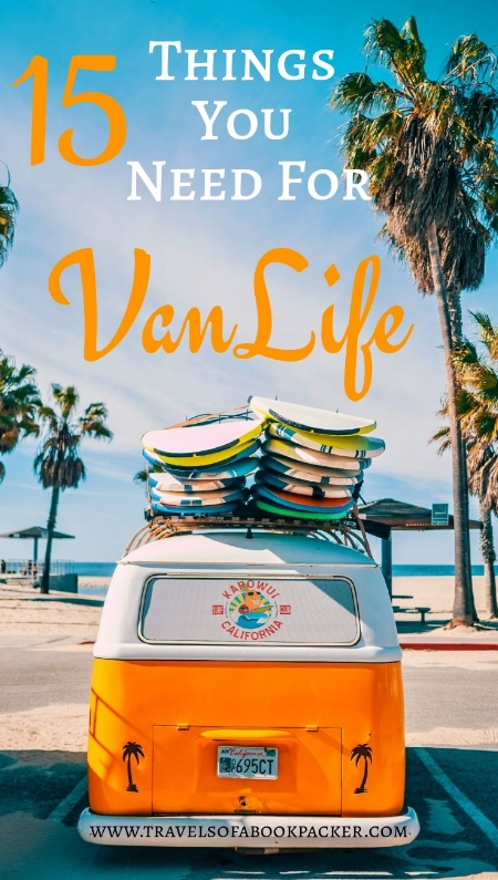 Planning a road trip? Read about 15 Vanlife essentials you definitely need in your van! Useful ideas and necessary equipment for an independent life on the road. #vanlife #roadtrip #essentials #equipment