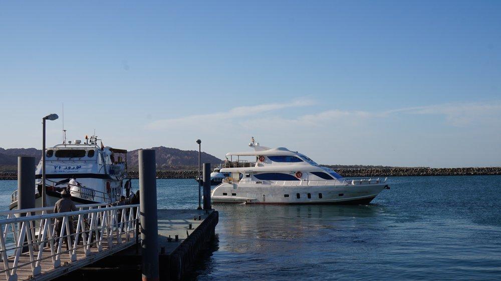 ferry to Qeshm island iran