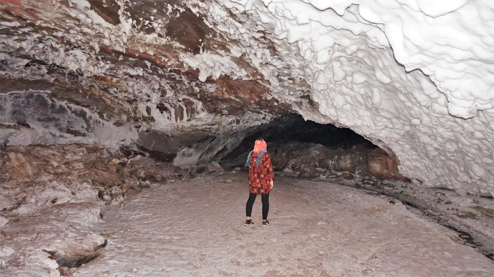 salt cave qeshm island iran