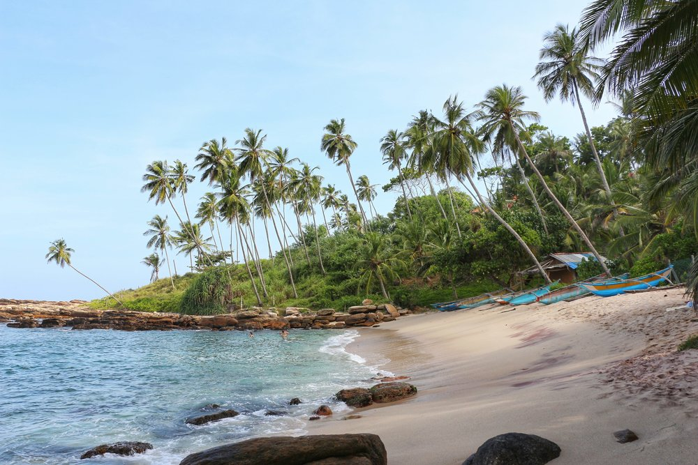Goyambokka Beach - Tangalle is one of the best beaches in Sri Lanka!