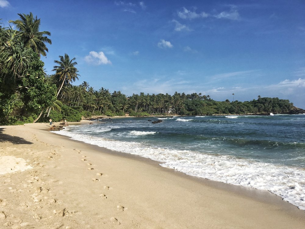 Nilwella definitely made it on our list of the best beaches in Sri Lanka.