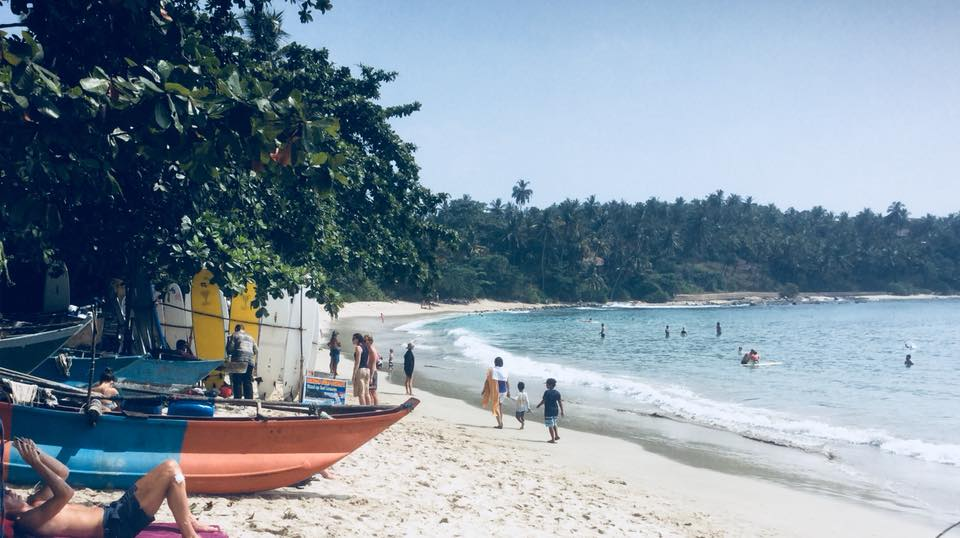 Hiriketeya beach is the surf option if you are staying in Dikwella, made it on the list of the best beaches in Sri Lanka!