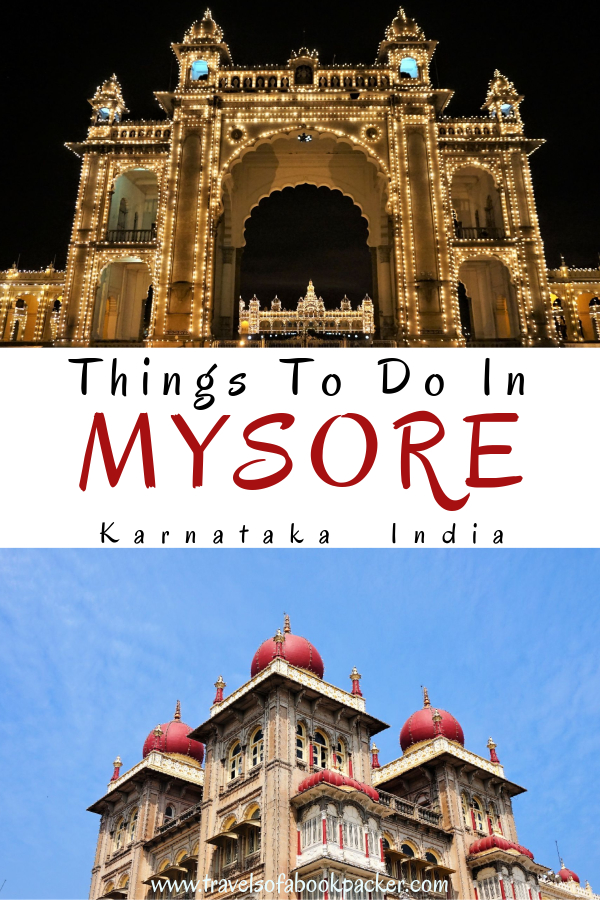 Travelling to India? Read about the best places to see in Mysore. This guide has a list of great things to do in Mysore as well as the best cafes in Mysore and restaurant recommendations. Don't miss this gem in the south of India. Travelling India // things to see in Karnataka // Things to see in south India // Things to do in Mysore // Things to do in south India // Mysore Palace #mysore #india #southindia #karnataka #mysorepalace