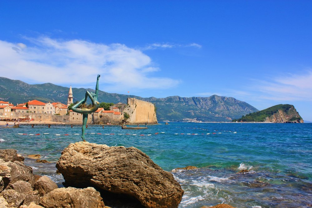 Budva in Montenegro makes a great city break if you have enough from the amazing beaches around.