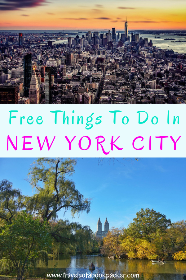 New York City is very expensive! Here are some free things to do in New York City to save you some money and still enjoy the magic of NYC. #NYC #newyork #newyorkcity #unitedstates #america #budgettravel #bigapple #freethingstodo