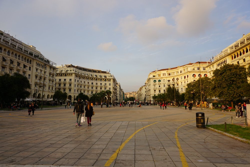 Thessaloniki in Greece makes a great city break destination.