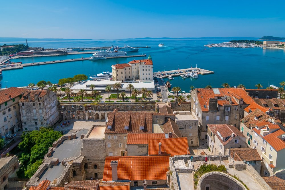 Split is one of the greatest destinations for a Balkan city break.