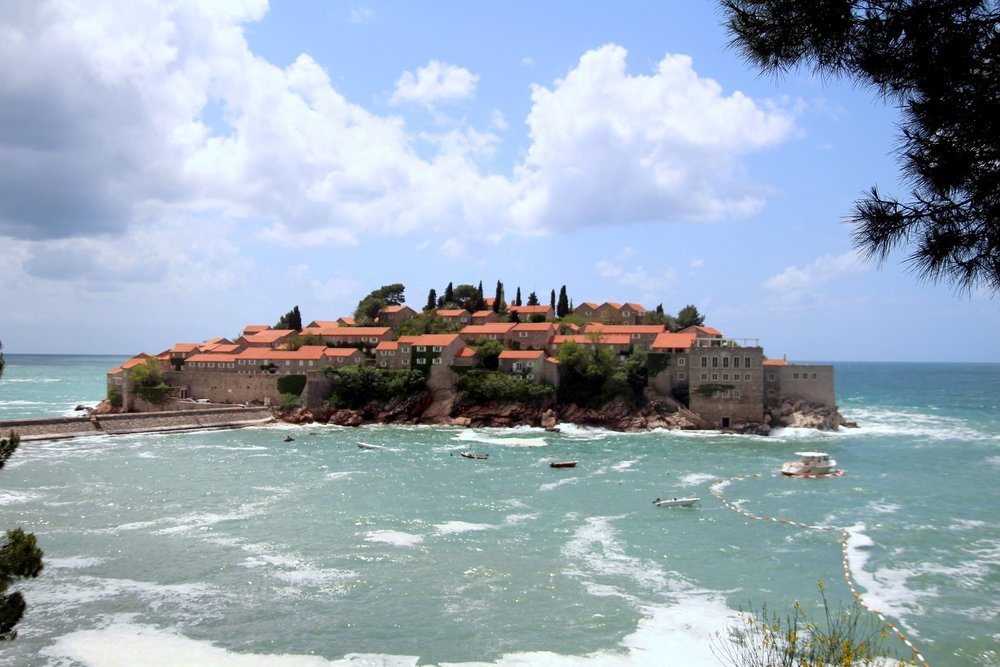 Put a stay at Sveti Stefan on your Montenegro itinerary, if you can afford it!
