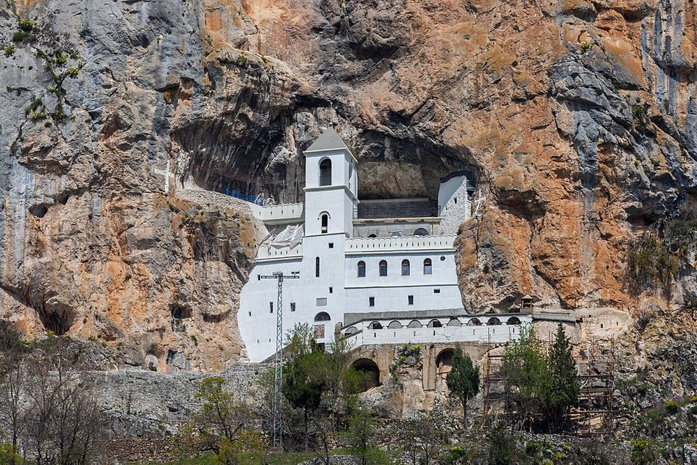 Ostrog Monastery is one of the most impressive monasteries in Montenegro. If you are interested in monasteries you should put this one on your Montenegro itinerary.