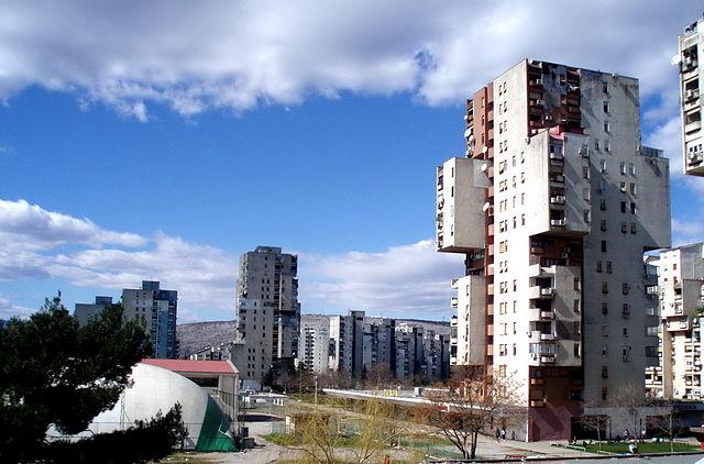 Montenegro's capital Podgorica. Places to visit in Montenegro.