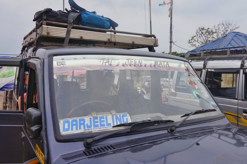 Shared Jeeps will be the form of transport during your Darjeeling itinerary.