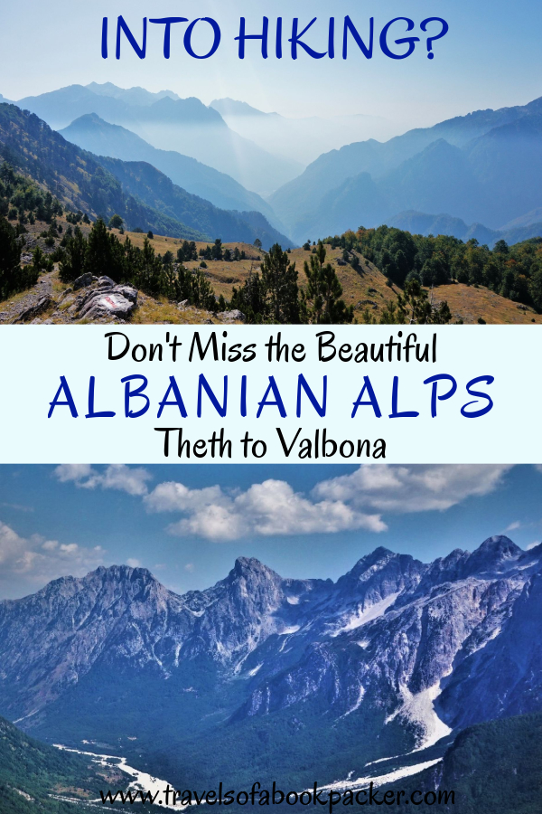 Interested in hiking? Detailed information about the Theth to Valbona hike in Albania. Getting from Shkoder to Theth, the hike from Theth to Valbona National Park and the ferry on Komani Lake back to Shkoder. Enjoy the incredible views of the Albanian Alps! #hiking #trekking #albania #bucketlist #albanianalps #theth #valbona #dayhike