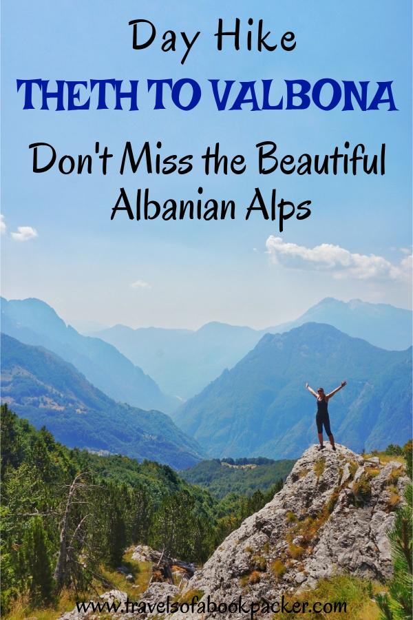 Detailed information about the Theth to Valbona hike in Albania. Getting from Shkoder to Theth, the hike from Theth to Valbona National Park and the ferry on Komani Lake back to Shkoder. Enjoy the incredible views of the Albanian Alps! #albania #balkans #hiking #trekking #thethtovalbona #albanianalps #beautifulviews #komanilake
