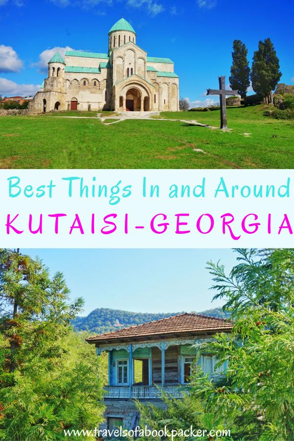 A guide for things to do in Kutaisi, Georgia. Includes things to do in kutaisi and details for getting to Gelati and Motsameta monasteries, two of the most beautiful monasteries in Georgia. #georgia #caucasus #kutaisi #kutaisimonasteries #kutaisibudgetairline #cheapflightskutaisi #wizzairkutaisi
