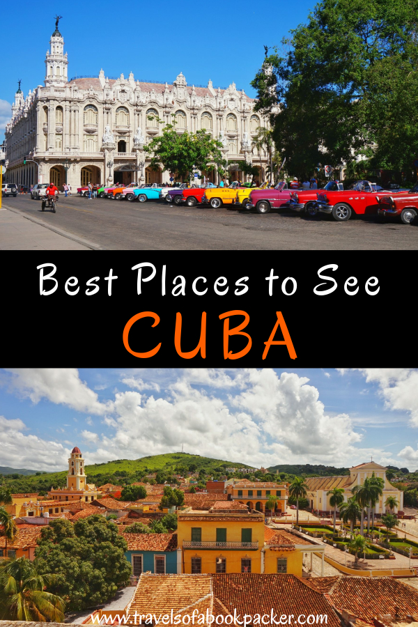 Planning to visit Cuba? Make sure you don't miss these incredible places to visit in Cuba! From beautiful beaches to colonial towns read about the best places to see in Cuba. #cuba #amazingplaces #caribbean #bestplacescuba #cantmisscuba