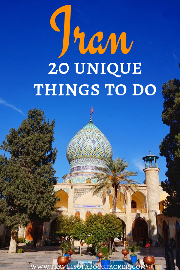 20 incredible things to do in Iran. From top attractions to food and local experiences. Travel inspiration for visiting Iran. #iran #travelinspiration #thingstodoiran #persia