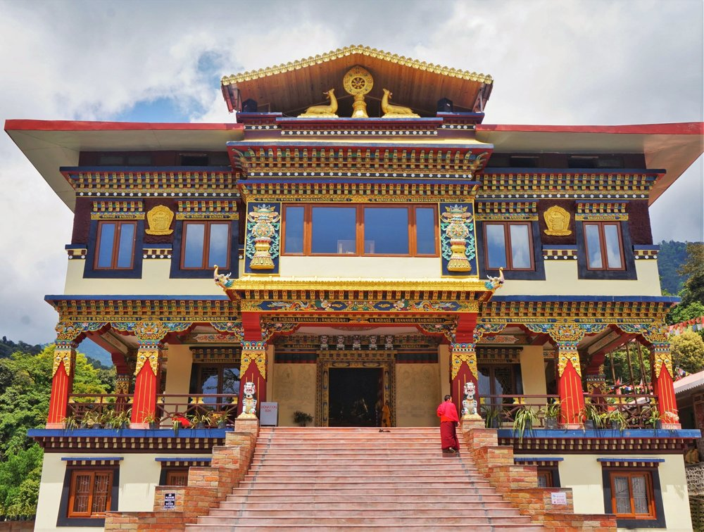 You will see many beautiful monasteries while backpacking in Sikkim!
