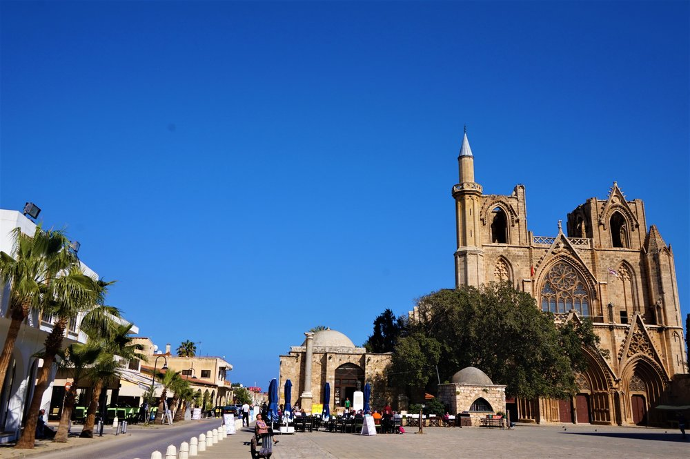 Famagusta is one of the best places to see in the north of Cyprus and is a must stop on your northern Cyprus road trip.