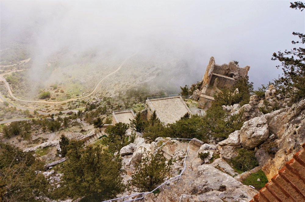 Hiking in the North Cyprus mountains, one of the best things to do in Noth Cyprus.