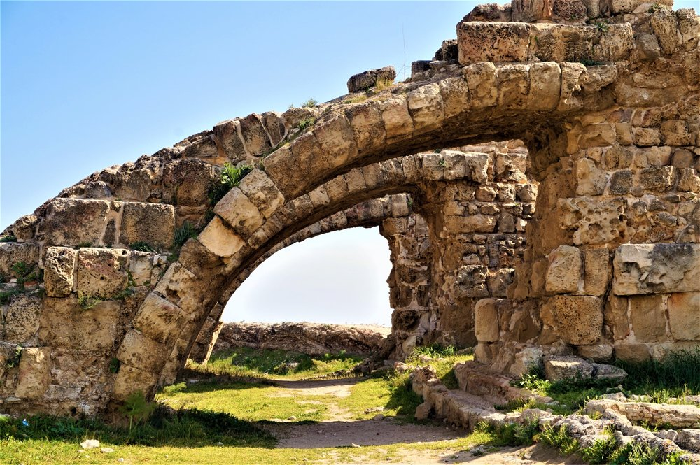 Salamis ruins are one of the best places to visit in northern Cyprus.