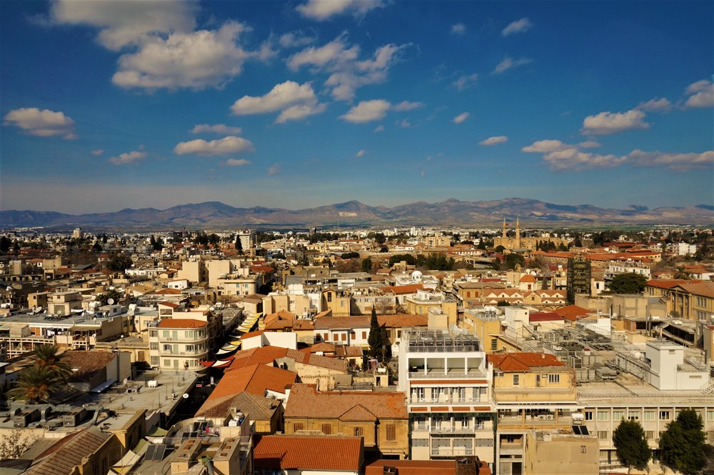 Things to do in Nicosia. Best views of Nicosia from the shakolas tower in the city centre