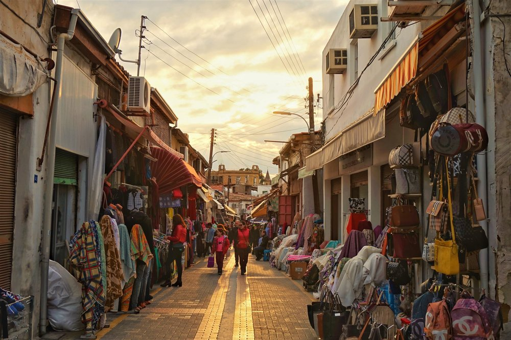 exploring the streets of North nicosia. Make sure to see the north side when visiting Nicosia